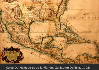 Carte Du Mexique et de la Floride, Guillaume Del'Isle, 1705
