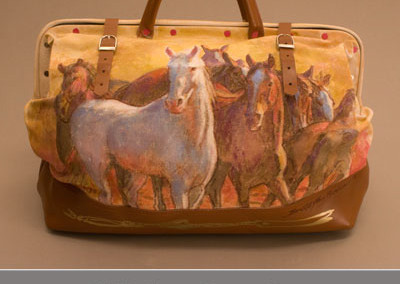 White Horse Canvas Bag by Buckeye Blake