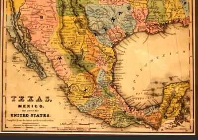 Texas, Mexico and Part of the United States, Joseph Yeager, 1836