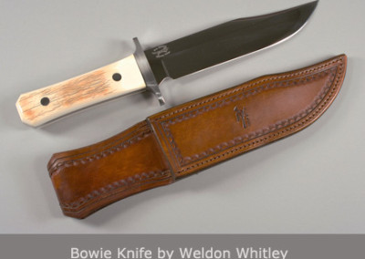 Bowie Knife by Weldon Whitley