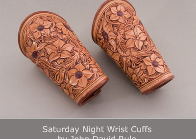 Saturday Night Wrist Cuffs by John David Rule