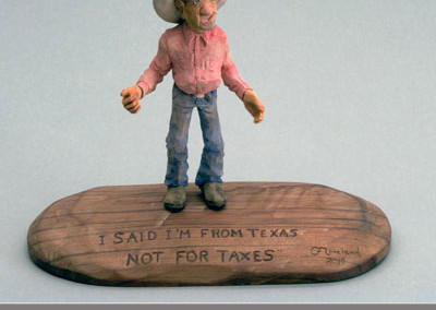 I'm From Texas by Glenn Moreland