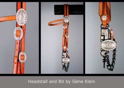 Headstall and Bit by Gene Klein