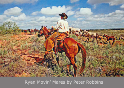 Ryan Movin' Mares by Peter Robbins