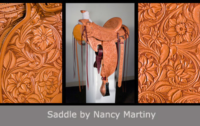 Saddle by Nancy Martiny