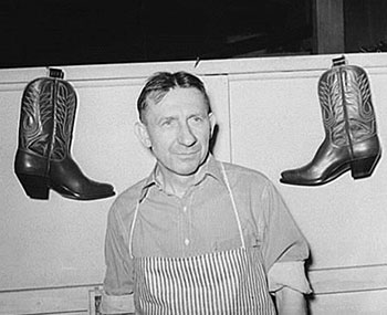 Kurt Lange and the Art of Bootmaking