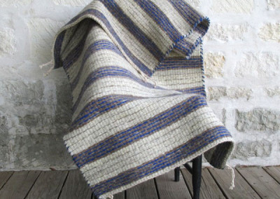 Banded Saddle Blanket by Angie Crowe