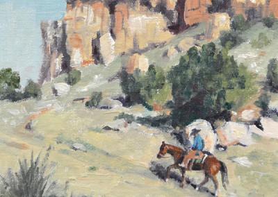 SOLD Below the Rock Ridge by Jan Mapes