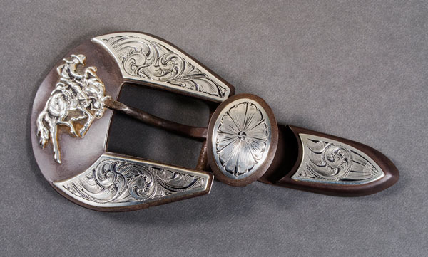 Three Piece Buckle Set by Michael Pardue
