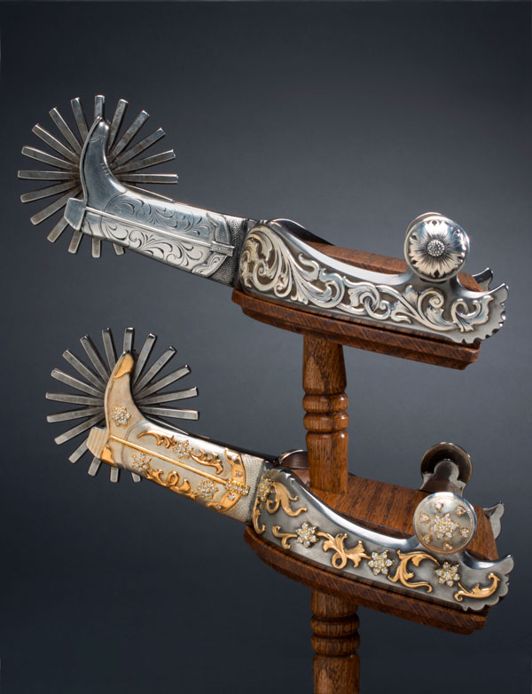 Boot Shank Spurs by Stewart Williamson