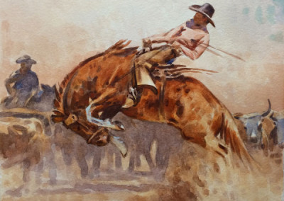 SOLD The Bronc by Teal Blake