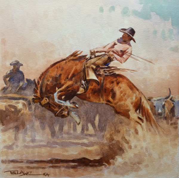 The Bronc by Teal Blake