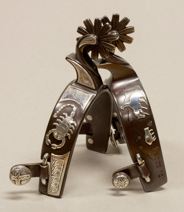 Scorpion Spurs by Doug Cook