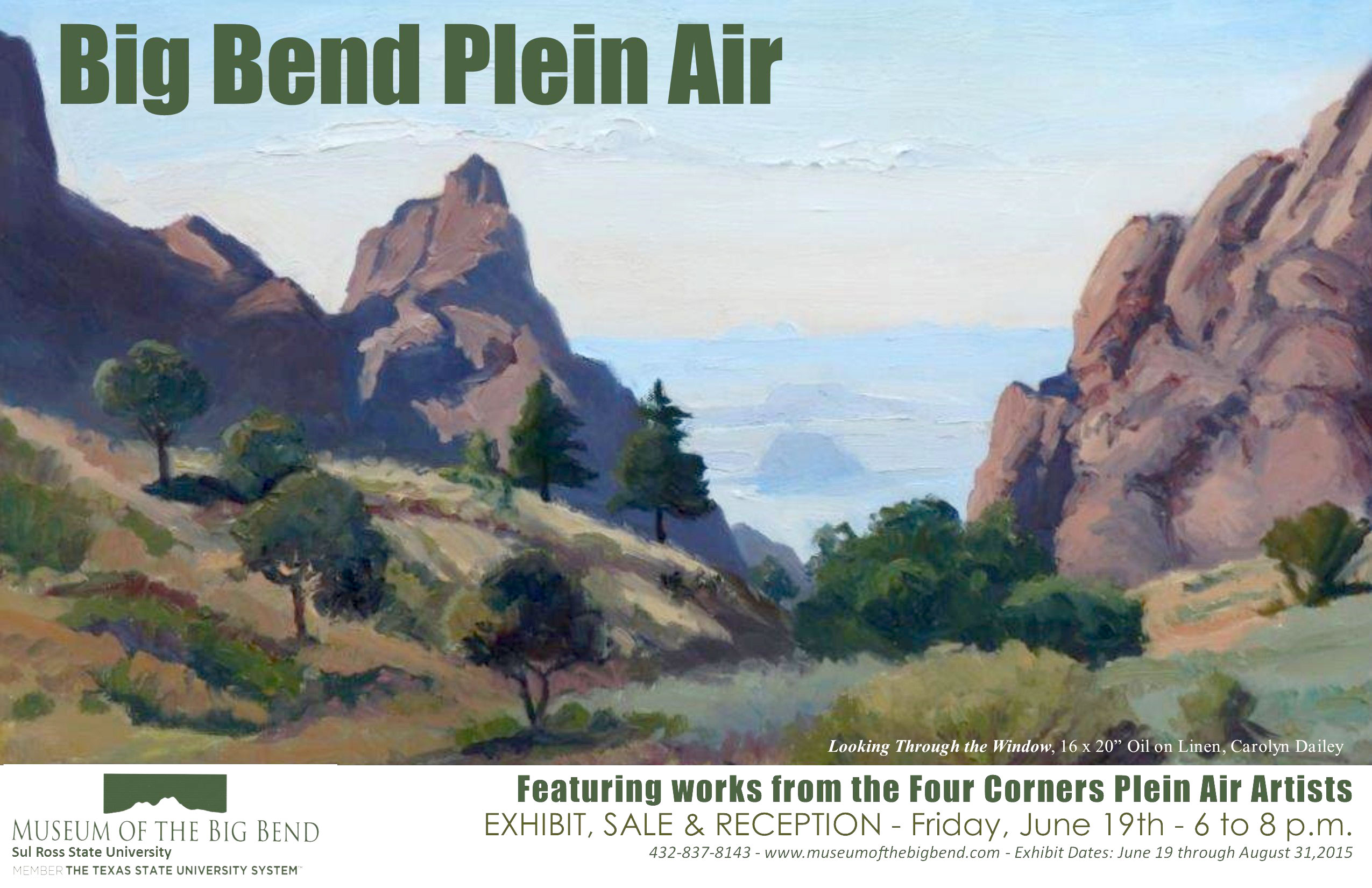 Big Bend Plein Air Poster