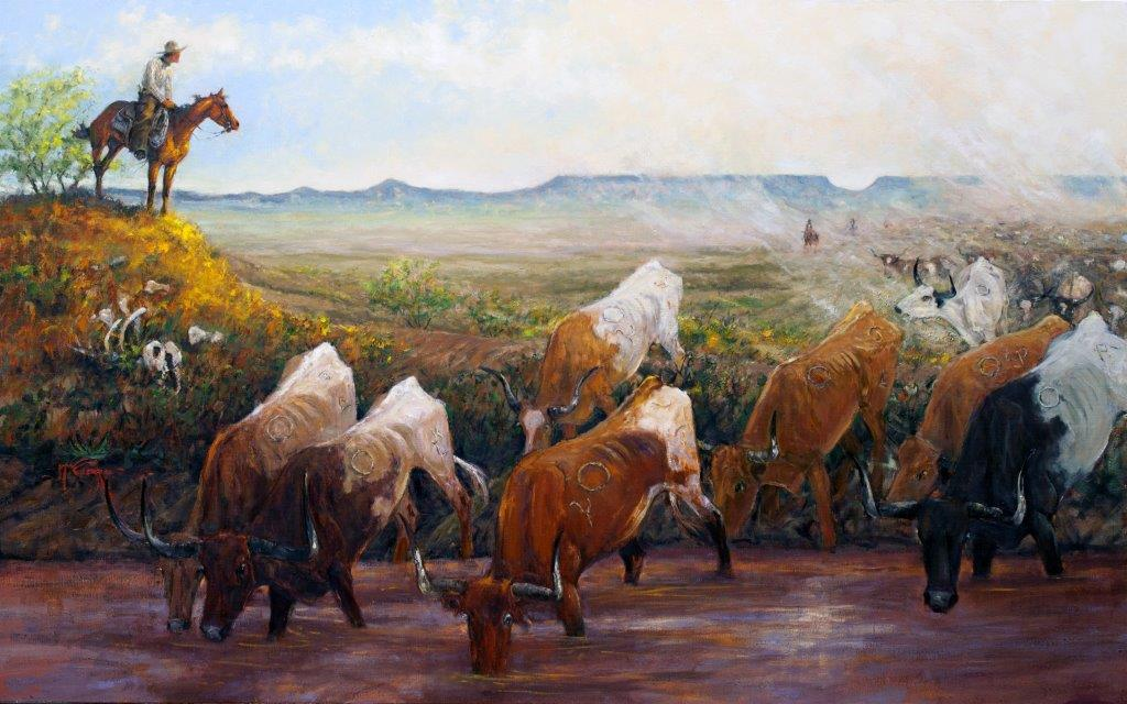 Horsehead Crossing - We Made It by Mike Capron
