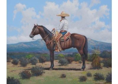 SOLD El Vaquero by Raul Ruiz