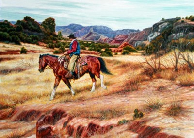 SOLD Canyon Cow Hunt by KW Whitley