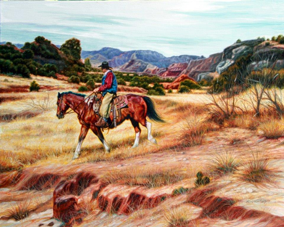 Canyon Cow Hunt by KW Whitley