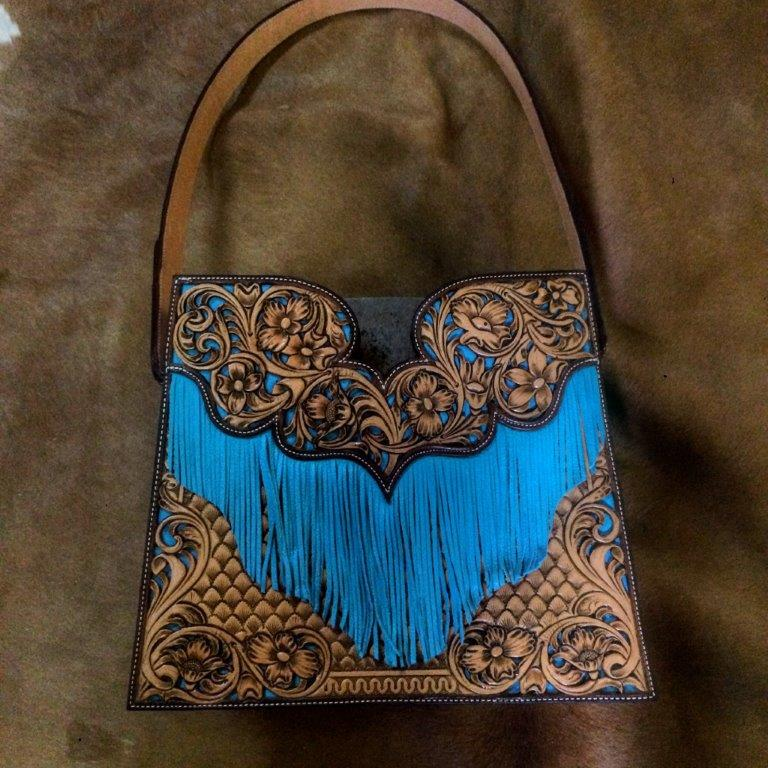 Fringed Purse by Brody Bolton