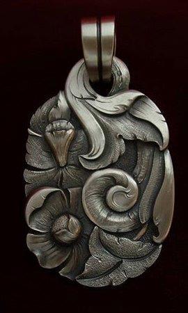 Sterling Silver Pendant by Javier Ribeyrol