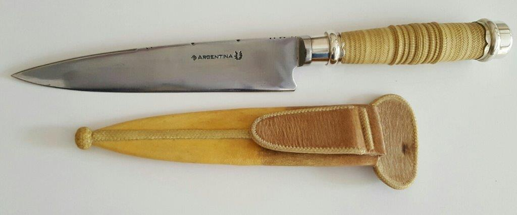 Fancy Gaucho Knife by Maximo Prado