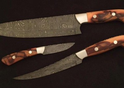 Kitchen Knife Set by Ruben Ramos