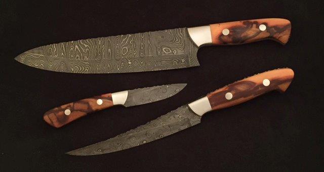 Kitchen Knife Set by Ruben Ramos
