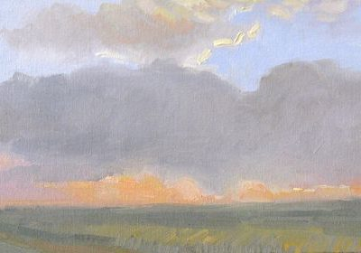 Kansas, Sunrise by Caroline Norton