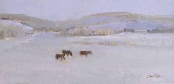 Kansas, Winter by Caroline Norton