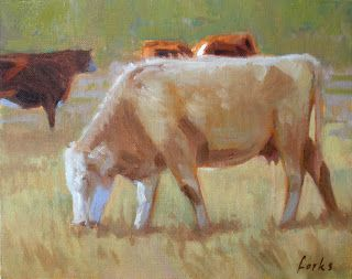 South Texas Cattle by David Forks
