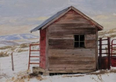 Ranch Shed by Don Gray