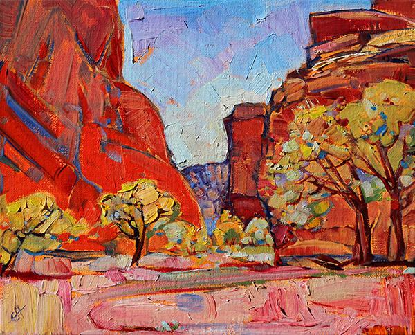 Canyon de Chelly by Erin Hanson