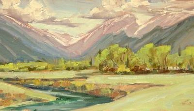 Plein Air in Rocky Mountain National Park by George Coll