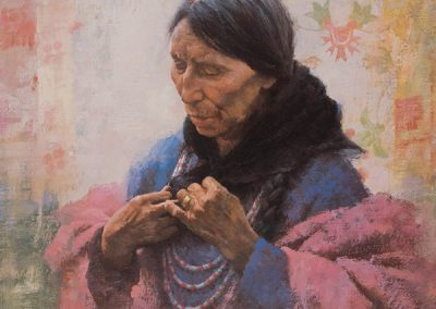Cree Finery by Howard Terpning