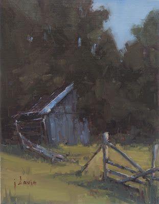 Old Smokehouse by Julie Davis