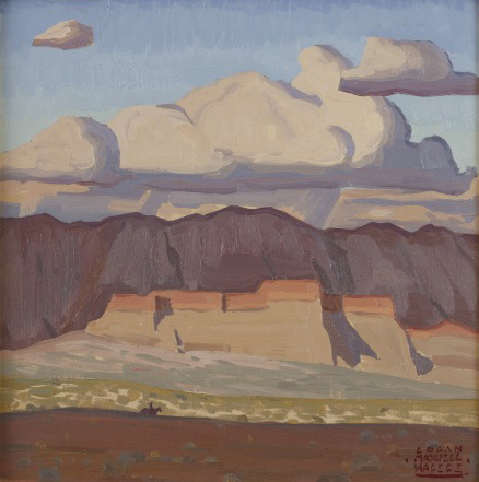 Shadows, Clouds and Mesa by Logan Maxwell Hagege