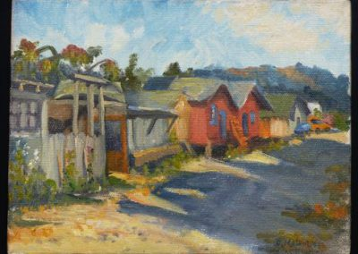 Sausalito Shacks by Patricia Melvin