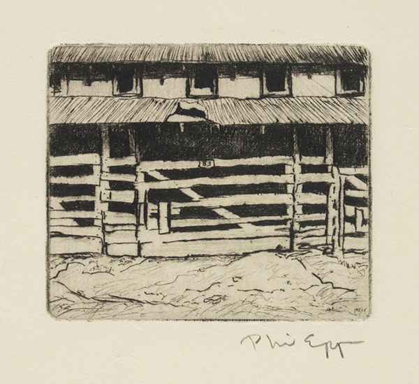 Livestock Barn by Phil Epp