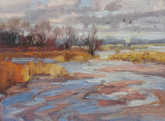 Platte River Shallows by V....Vaughan