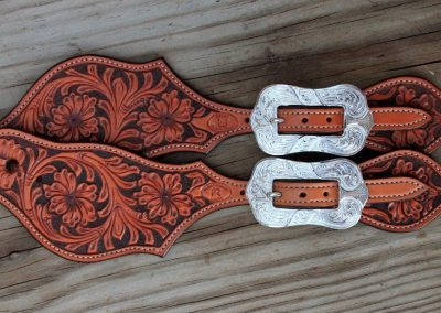 Mankato Style Spur Strap Buckles on Custom Straps by Baru Forell