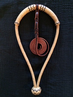 Center Tie Underbridle by Ben Tolley