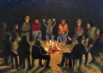 Tall Tales Campfire by Chase Almond