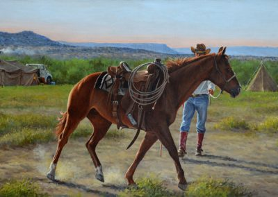 A Little Schooling by Herman Walker – SOLD