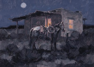 Rancho by Kim Mackey – SOLD