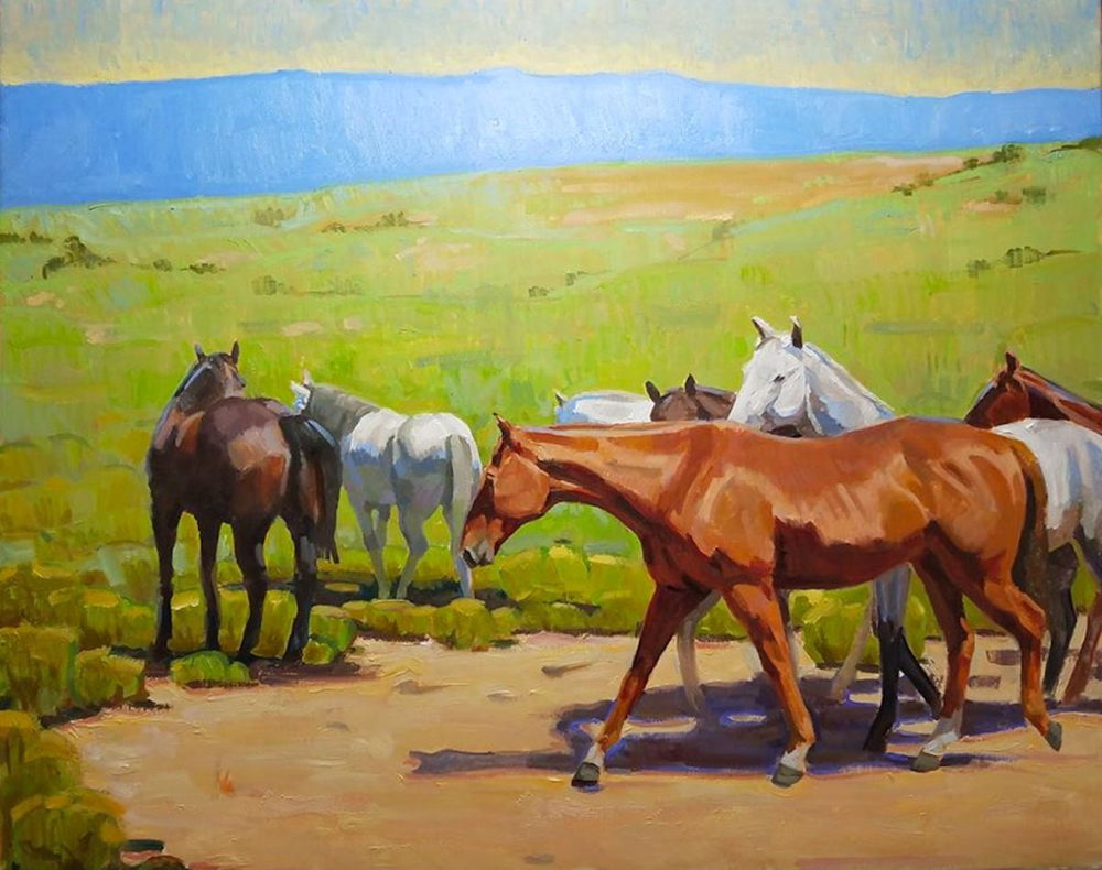 Summer Herd by Lauren Pomatto