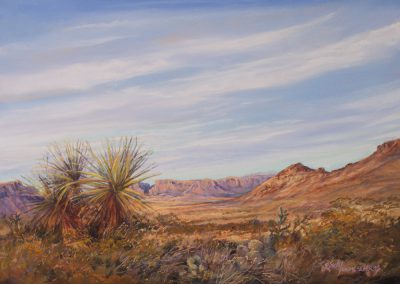 The Moment the Desert Turns Golden by Lindy Cook Severns