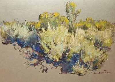 Sagebrush and Rabbit Brush by Chessney Sevier – SOLD