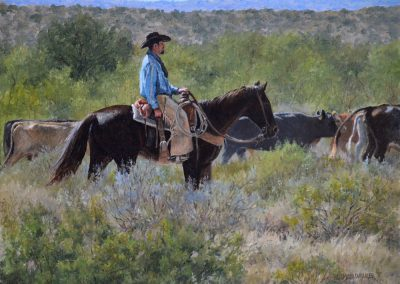Trailing Along by Herman Walker – SOLD