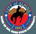 city of alpine seal