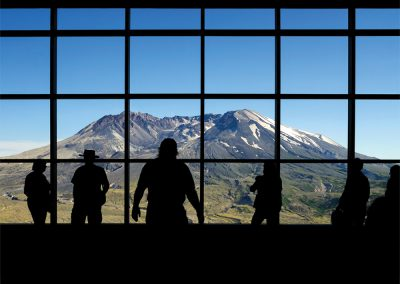 Sasquatch, Mount Saint Helen's Visitor Center, Washington